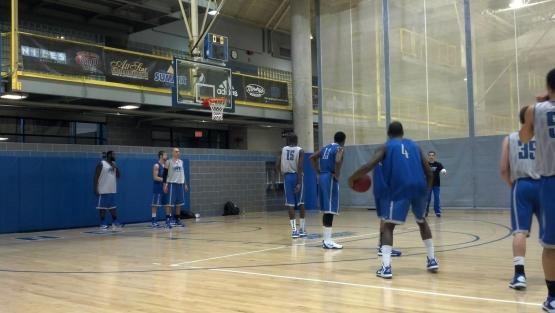 This is the Swinney Recreation Center at UMKC. It's also the Roos' home court.