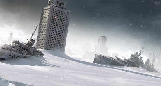 "This is what happens when you Google ""apocalyptic snow""."