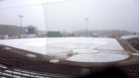 Photo courtesy of Chris Mehring, Timber Rattlers Broadcaster. Find him at rattlerradio.mlblogs.com.