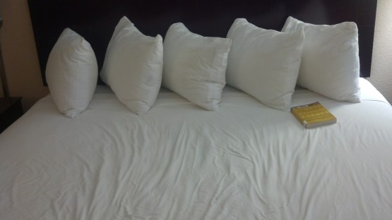 5 pillows