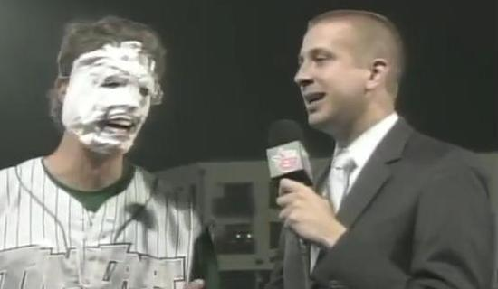 Shaving cream is temporary; a no-hitter is forever.