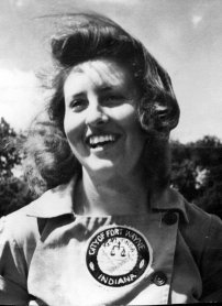 Dottie Collins, who played for the Fort Wayne Daisies from 1945-1948 and in 1950.