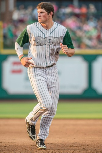 Renfroe played in 43 games during his debut season of 2013, 18 of those in a TinCaps uniform.
