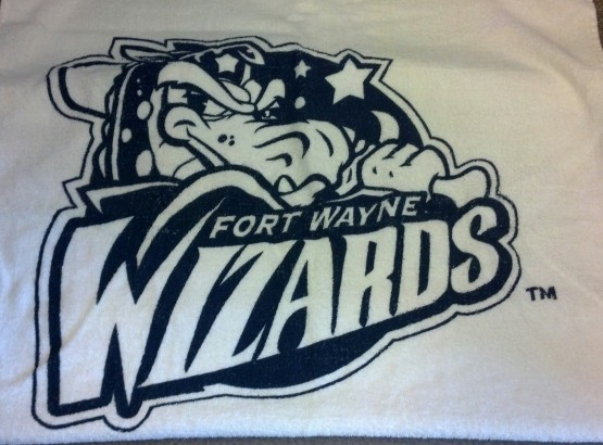 Not one, but two Wizards beach towels.