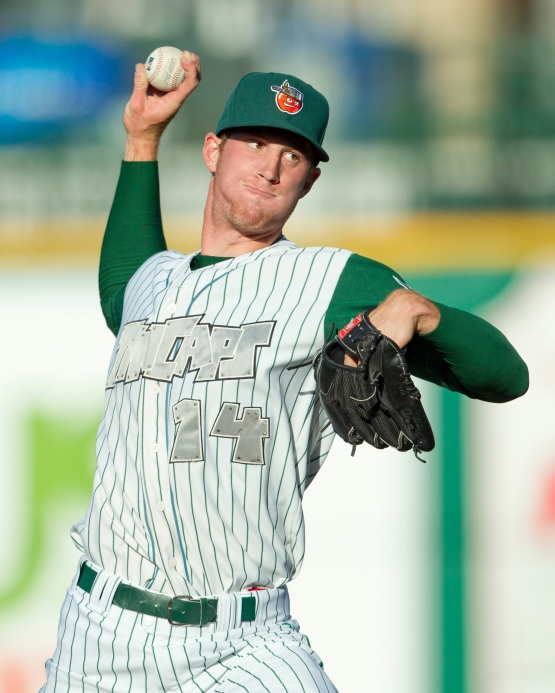 Michael Kelly, who has been on the Fort Wayne roster each of the last two seasons, has not pitched in a Midwest League game later than June.